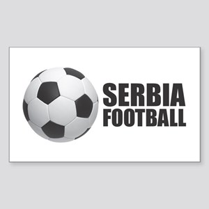 Serbia Football Sticker