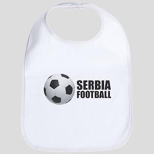 Serbia Football Baby Bib