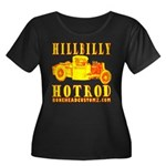 HILLBILLY HOTROD Y Women's Plus Size Scoop Neck Da