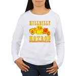 HILLBILLY HOTROD Y Women's Long Sleeve T-Shirt