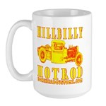 HILLBILLY HOTROD Y Large Mug