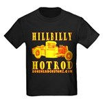 HILLBILLY HOTROD Y Kids Dark T-Shirt