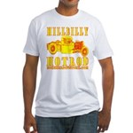HILLBILLY HOTROD Y Fitted T-Shirt