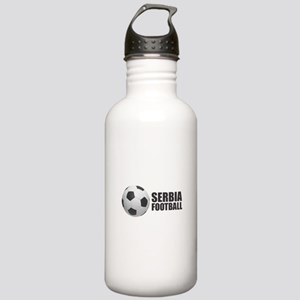 Serbia Football Stainless Water Bottle 1.0L