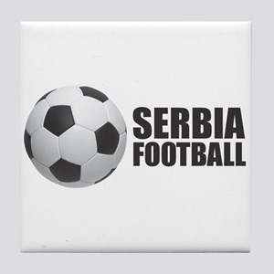 Serbia Football Tile Coaster