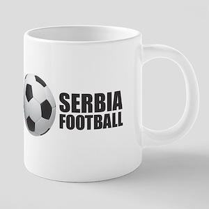 Serbia Football Mugs