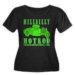 HillBillyHotRod GRN Women's Plus Size Scoop Neck D