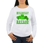 HillBillyHotRod GRN Women's Long Sleeve T-Shirt
