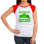 HillBillyHotRod GRN Women's Cap Sleeve T-Shirt