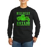 HillBillyHotRod GRN Long Sleeve Dark T-Shirt