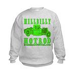 HillBillyHotRod GRN Kids Sweatshirt