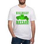 HillBillyHotRod GRN Fitted T-Shirt