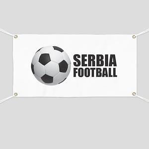 Serbia Football Banner