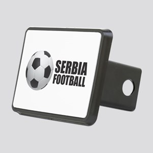 Serbia Football Rectangular Hitch Cover