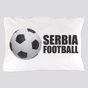 Serbia Football Pillow Case
