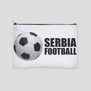 Serbia Football Makeup Bag