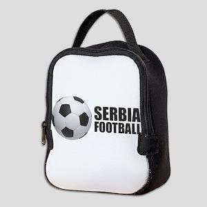 Serbia Football Neoprene Lunch Bag