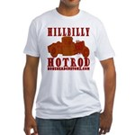 HILLBILLY RED Fitted T-Shirt
