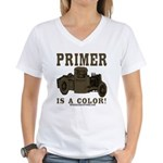 PRIMER Women's V-Neck T-Shirt