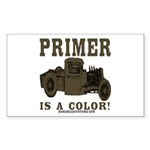 PRIMER Rectangle Sticker