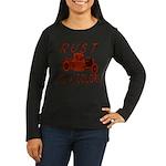 RUST IS A COLOR Women's Long Sleeve Dark T-Shirt