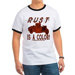 RUST IS A COLOR Ringer T
