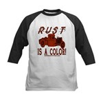RUST IS A COLOR Kids Baseball Jersey