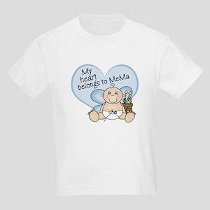 My Heart Belongs to MeMa BOY Kids Light T-Shirt