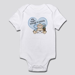 My Heart Belongs to MeMa BOY Infant Bodysuit