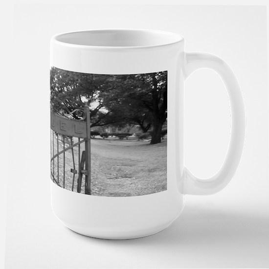Cemetery Gate Large Mug