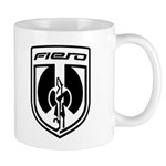 Fiero Mug - Black 2K8b Logo