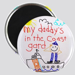 Coast Guard Daddy Magnet