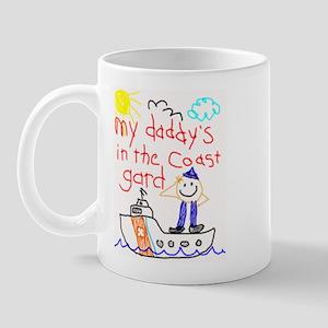 Coast Guard Daddy Mug