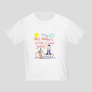 Coast Guard Daddy Toddler T-Shirt