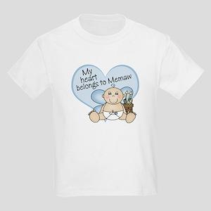 My Heart Belongs to Memaw BOY Kids Light T-Shirt