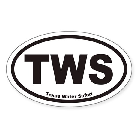 TWS Euro Oval Sticker
