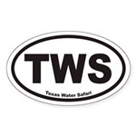 TWS Euro Oval Sticker