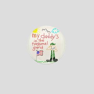 National Guard Daddy Mini Button