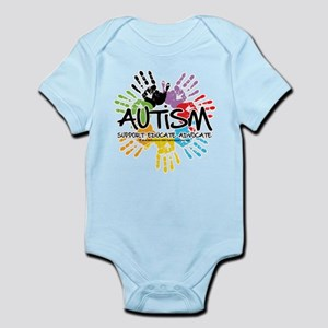 Autism-Handprint2011 Body Suit