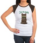 I Love The French Quarter Women's Cap Sleeve T-Shi