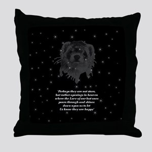 """Stars in the Heavens"" Throw Pillow"