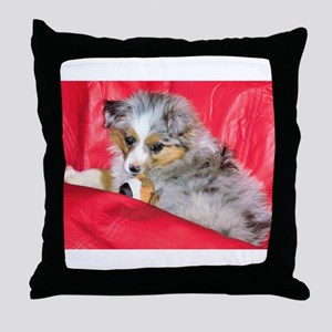 Mini Aussie Throw Pillow