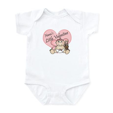 Nana's Little Valentine GIRL Infant Bodysuit