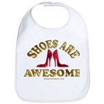 Shoes are Awesome Bib