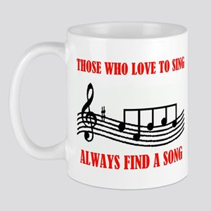 LOVE TO SING Mug