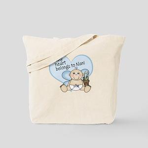 My Heart Belongs to Nani BOY Tote Bag