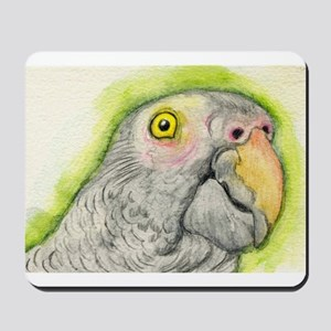 Timneh African Grey Parrot Mousepad