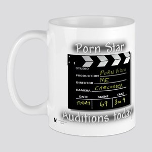 Porn Star Auditions Mug