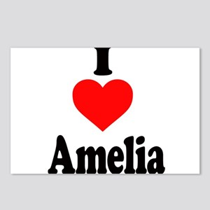 I heart Amelia Postcards (Package of 8)