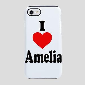 I heart Amelia iPhone 8/7 Tough Case